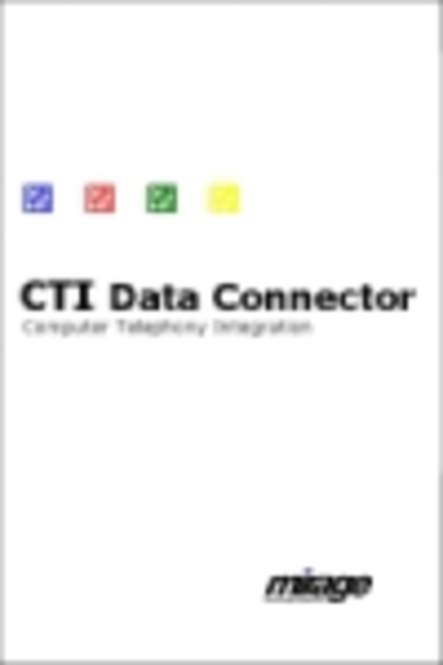 CTI Data Connector Enterprise Version - Product Family Screenshot 1