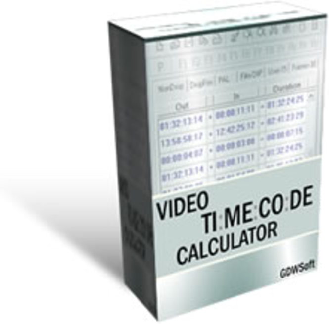 Video Timecode Calculator - Site License Screenshot 1