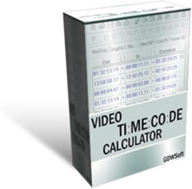 Video Timecode Calculator - Site License Screenshot