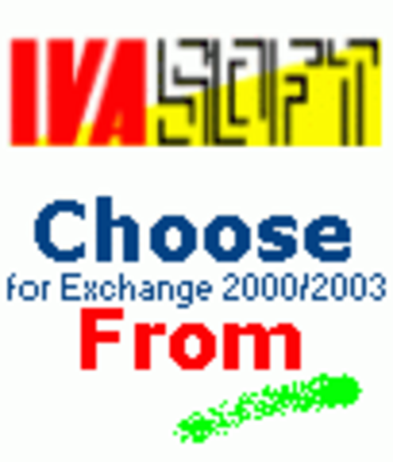 ChooseFrom for MS Exchange 2000/2003 (Enterprise license) Screenshot 2