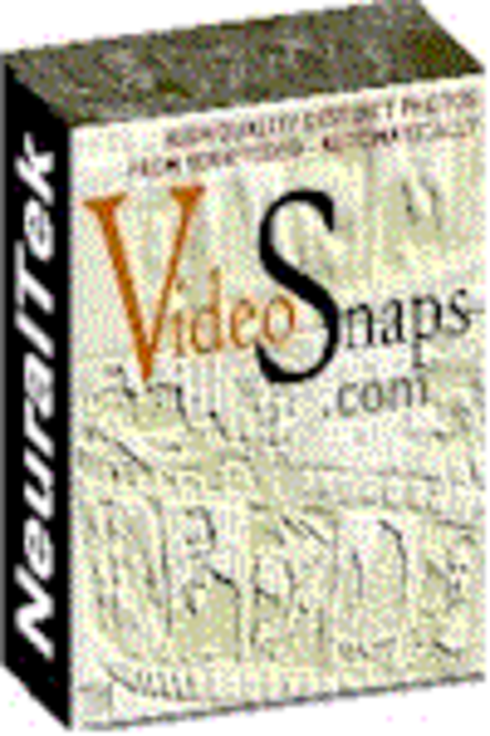VideoSnaps - Extract unique high quality still photos from a video file - automatically Screenshot
