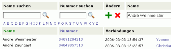 GEOTEK Phone Book Products Screenshot 1