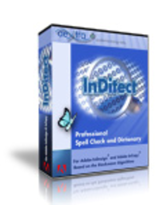 InDitect CS2 Spell Check Mac OS X Screenshot