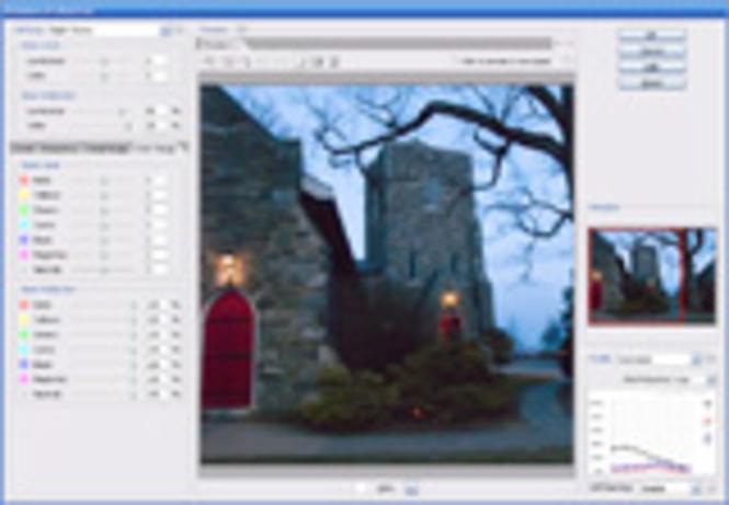 Noiseware Standard Plug-in for Mac OS X Screenshot