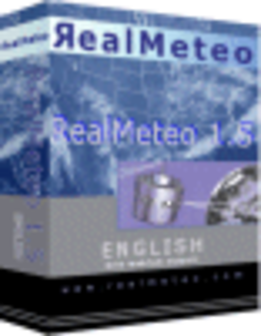 Promo RealMeteo 93% discount 1year license Screenshot