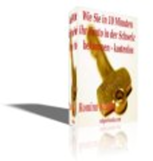 """eBook """"Wie Sie in 10 Minuten ihr Konto in der Schweiz bekommen-kostenlos"""" Screenshot"""