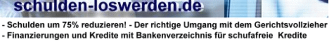 SchuldenVollpaket 2007 Screenshot