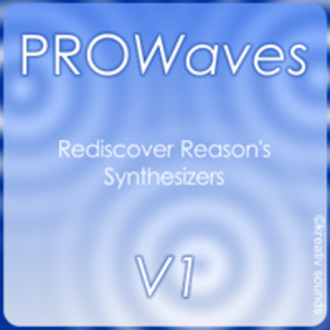 KS PROWaves V1 - Rediscover synthesizers (Reason ReFill) Screenshot 1