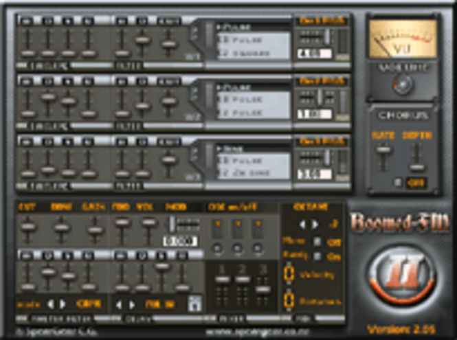 Boomed-FM II VSTi Screenshot