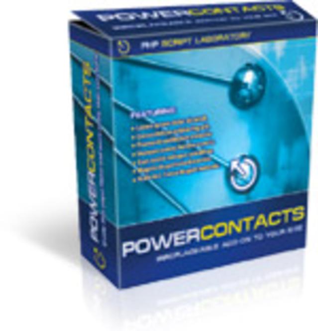 Power Contacts Screenshot