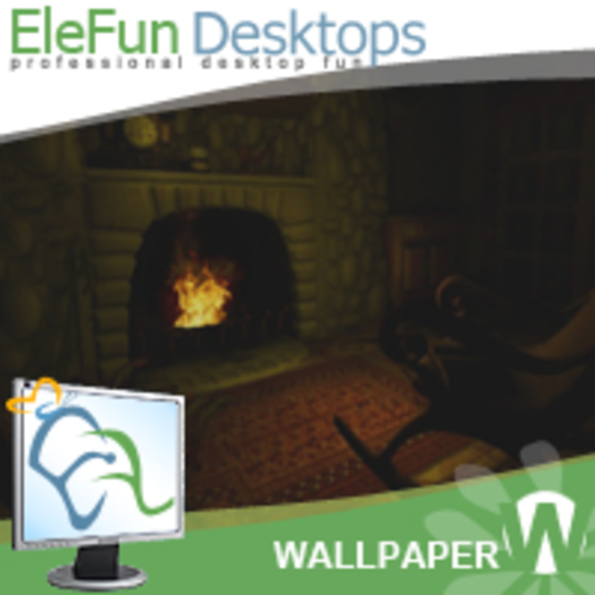 Fireplace - Animated Wallpaper Screenshot