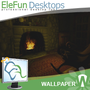 Fireplace - Animated Wallpaper 1