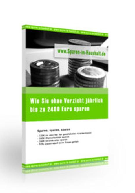 Jährlich bis 2400 EUR sparen - ohne Verzicht Screenshot 1