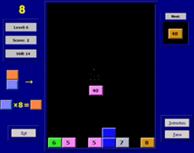 Valgetal Tables Screenshot