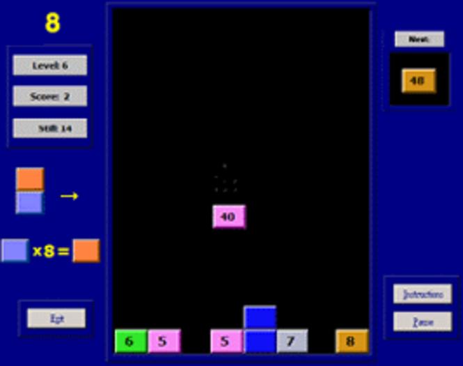 Valgetal Tables Screenshot 1