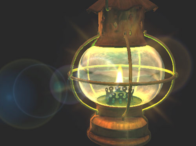 Lantern 3D Screensaver Screenshot 1