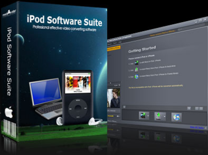 mediAvatar iPod Software Suite for Mac Screenshot