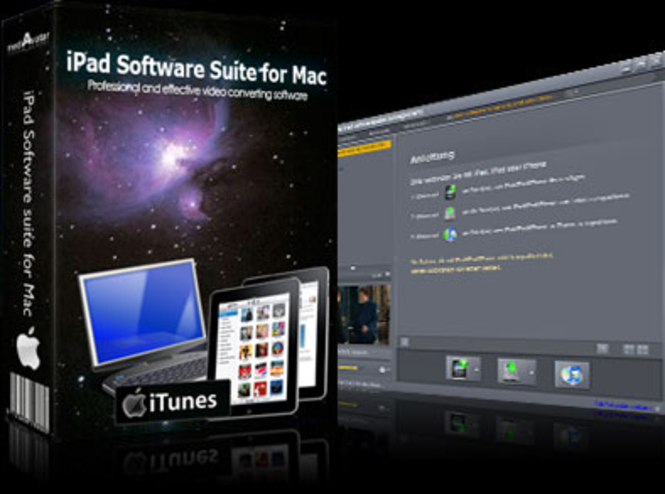 mediAvatar iPad Software Suite for Mac Screenshot