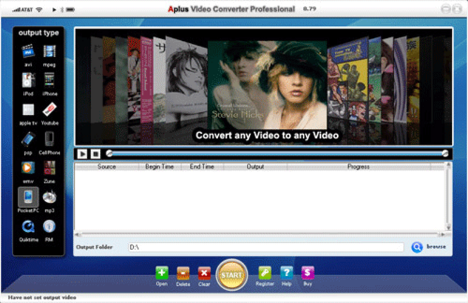 Aplus Video converter Screenshot