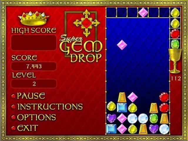 Super Gem Drop Screenshot 1