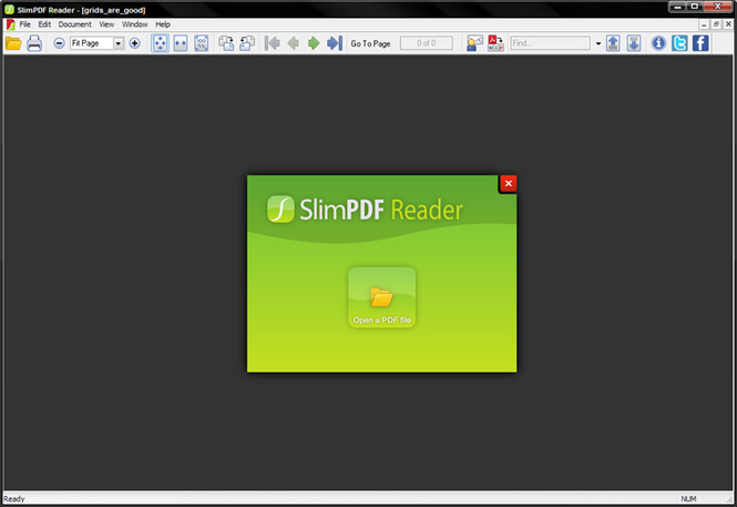 Slim PDF Reader Screenshot 1