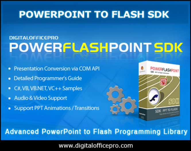 PowerFlashPoint SDK - PPT TO FLASH Screenshot 1