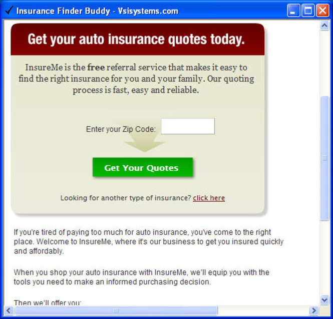 Insurance Buddy Screenshot 1