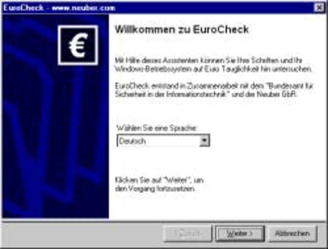 EuroCheck Screenshot 1