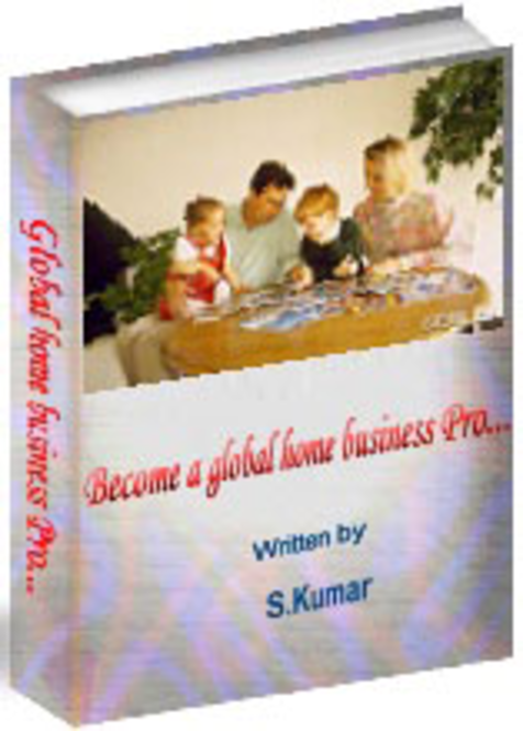 """ Become A Global Home Business Pro -eBook! Screenshot"