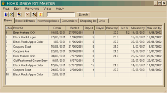 Home Brew Kit Master Screenshot 1