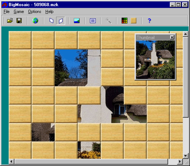 BigMosaic Screenshot 1