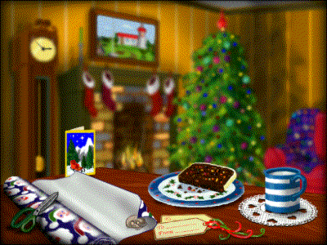 AHA! Christmas Trivia Screen Saver Screenshot