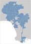 Los Angeles City Map Locator 1