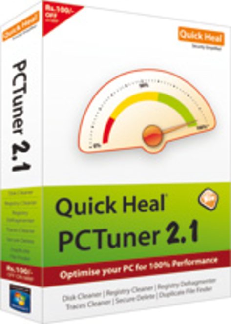 Quick Heal PCTuner Screenshot