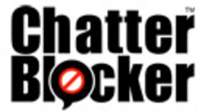 ChatterBlocker MP3 Screenshot