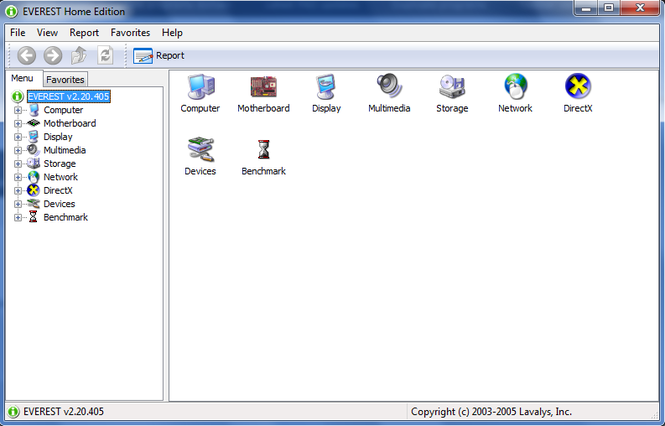 EVEREST Home Edition Screenshot 1