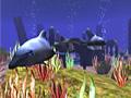 Wilde Delfine 3D Bildschirmschoner 1