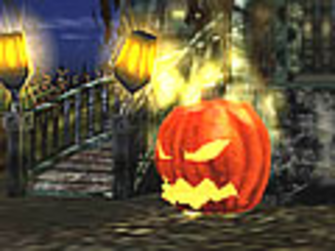 3D Spukendes Halloween Bildschirmschoner Screenshot 2