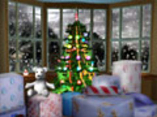 3D Frohe Weihnachten Bildschirmschoner Screenshot 1
