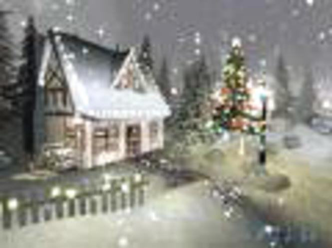 Weihnachtszeit 3D Bildschirmschoner Screenshot 1