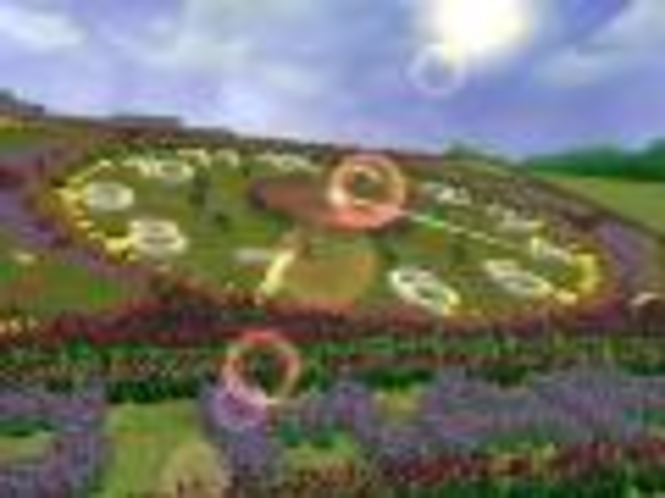 Blumenuhr 3D Bildschirmschoner Screenshot
