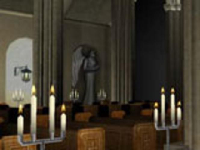 Kathedrale 3D Bildschirmschoner Screenshot