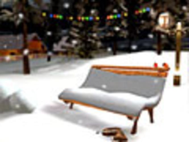 Heiligabend 3D Bildschirmschoner Screenshot