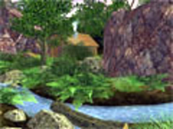 Grünes Tal 3D Bildschirmschoner Screenshot