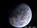 Planet Erde 3D Bildschirmschoner 1