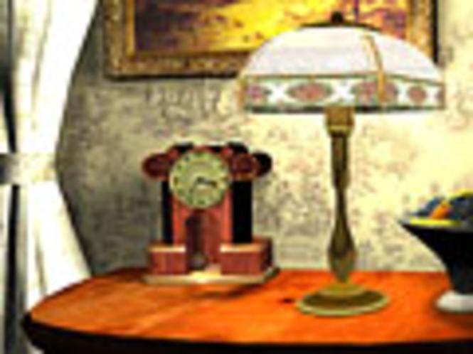 3D Kaminuhr Bildschirmschoner Screenshot