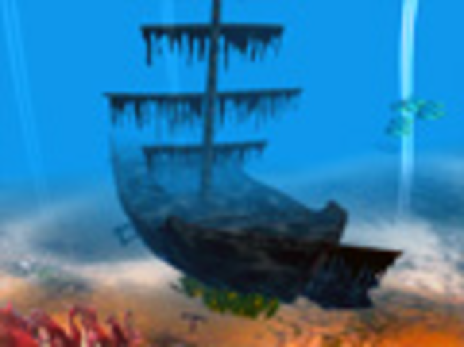 Piratenschiff 3D Bildschirmschoner Screenshot 1