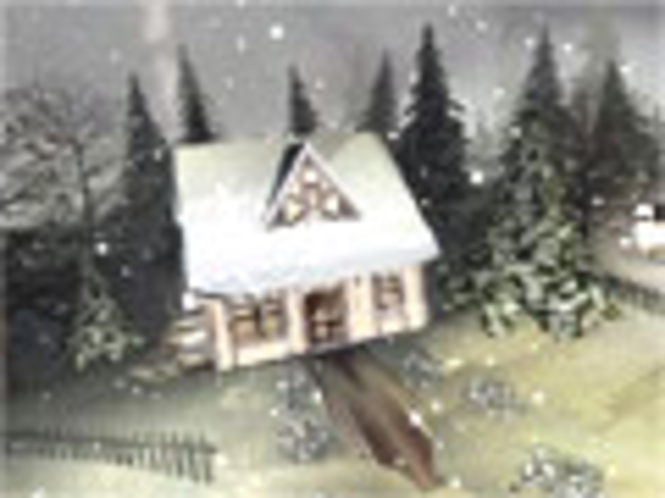 Winter 3D Bildschirmschoner Screenshot