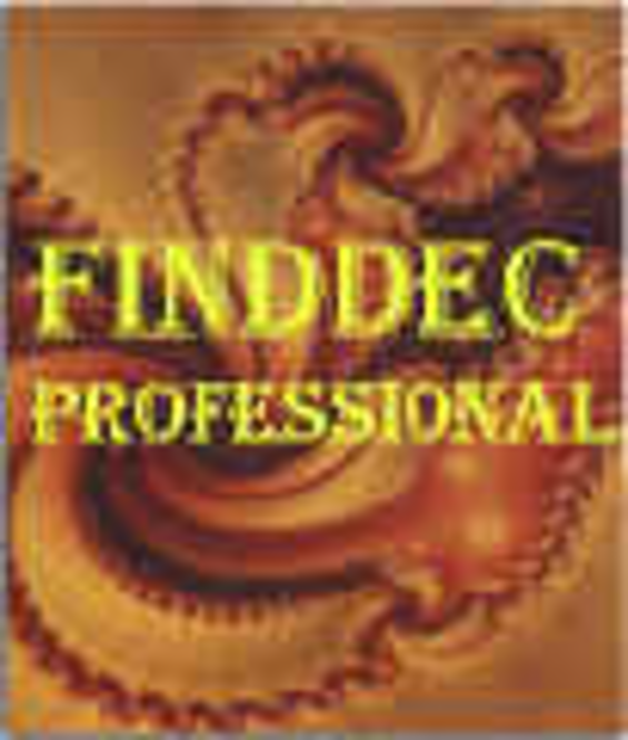 FindDec professional Screenshot