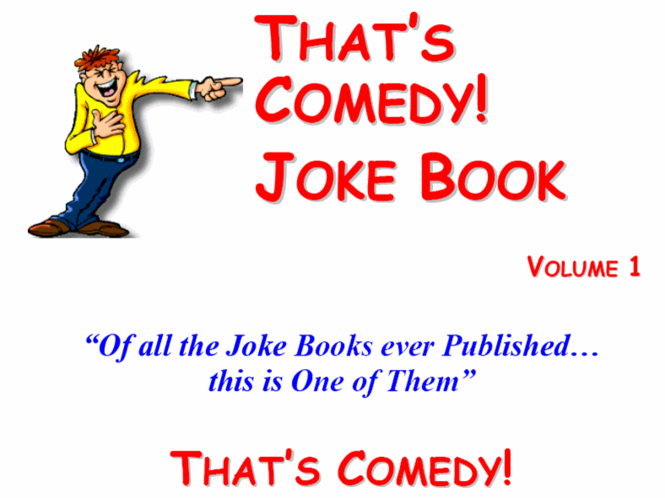 Free Joke Book Screenshot 1